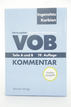 Ingenstau, VOB 19. Auflage April 2015